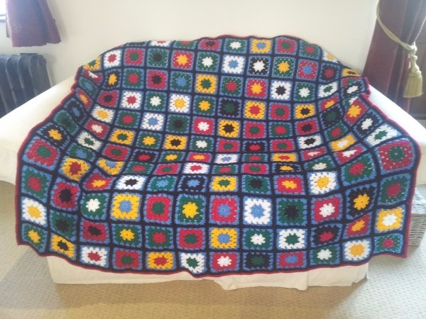 Raffle for Handmade Crochet Blanket